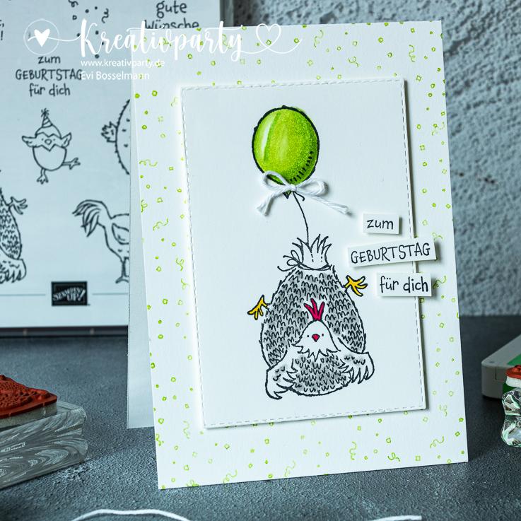 """Geburtstagskarte """"Zum Geburtstag für Dich"""""""