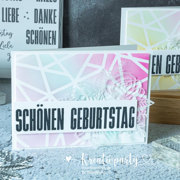 """Grußkarte """"Schönen Geburtstag"""""""