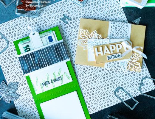 Happy Birthday - Karte für Geldgeschenk